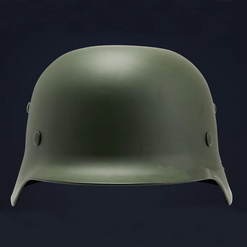 Prix pour Top Qualité Tactique Casque Classique Bourgmestres M35 OD Airsoft Casque Allemand Armée Luftwaffe Acier Casque