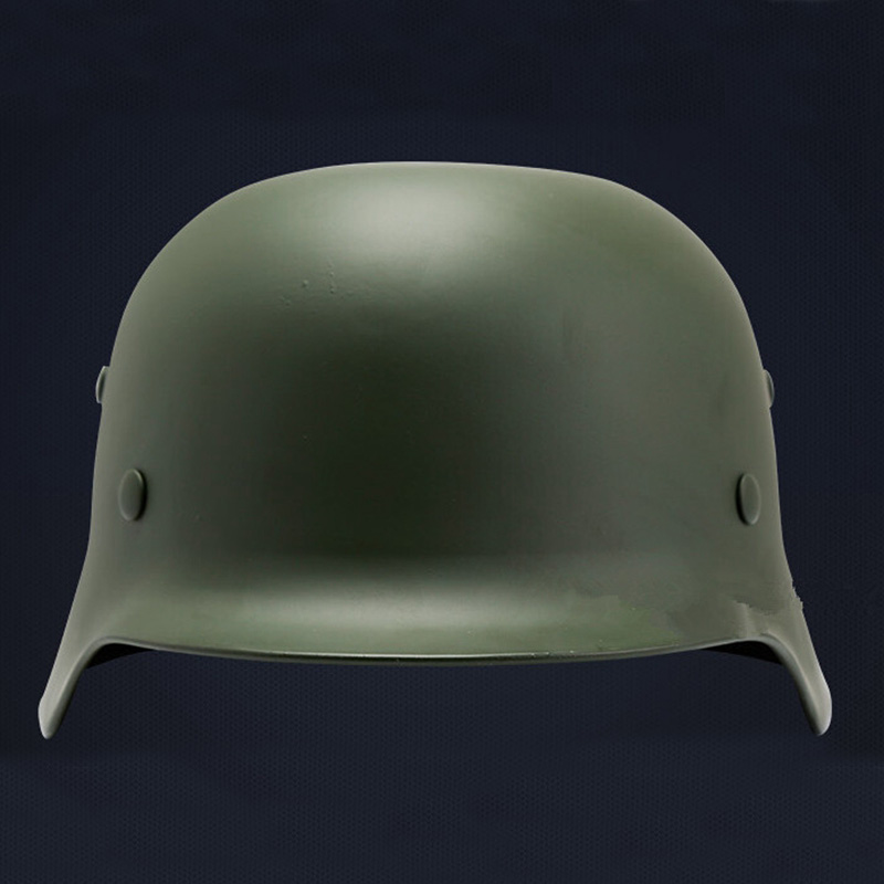 Top Quality Tactical Helmet Classic M35 Burgomasters OD Airsoft Helmet German Army Luftwaffe Steel Helmet tactical helmet motorcycle helmets wwii german helmet m35 helmet classic engraved