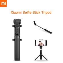Original Mi Xiaomi Bluetooth Selfie Stick Tripod With Wireless Shutter Mini Foldable Selfie Stick For iPhone Android Xiaomi