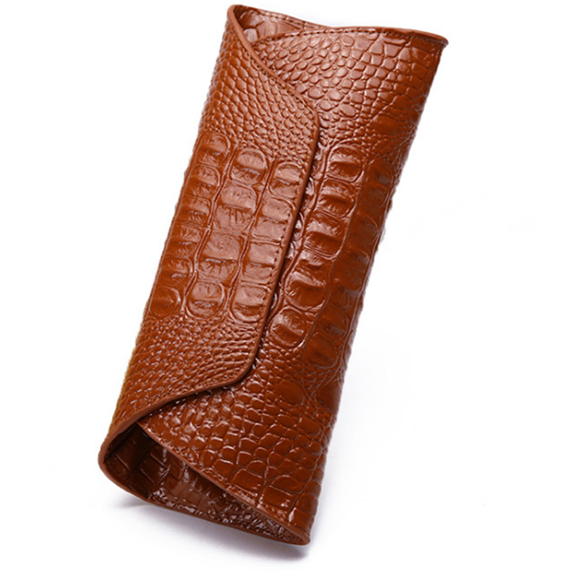 Women Wallet Genuine Leather Long Fahsion Women Purse Large Capacity Luxury Lady Clutch with Cell phone Pocket Note Compartment gathersun brand handmade 2017 original design genuine leather men wallet vintage style large capacity long purse clutch wallet