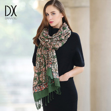 New 2019 Women Winter Scarf For Women Wool and Silk Scarf And Shawl Warm Female Plaid Scarf Women Shawl echarpe Face Shield