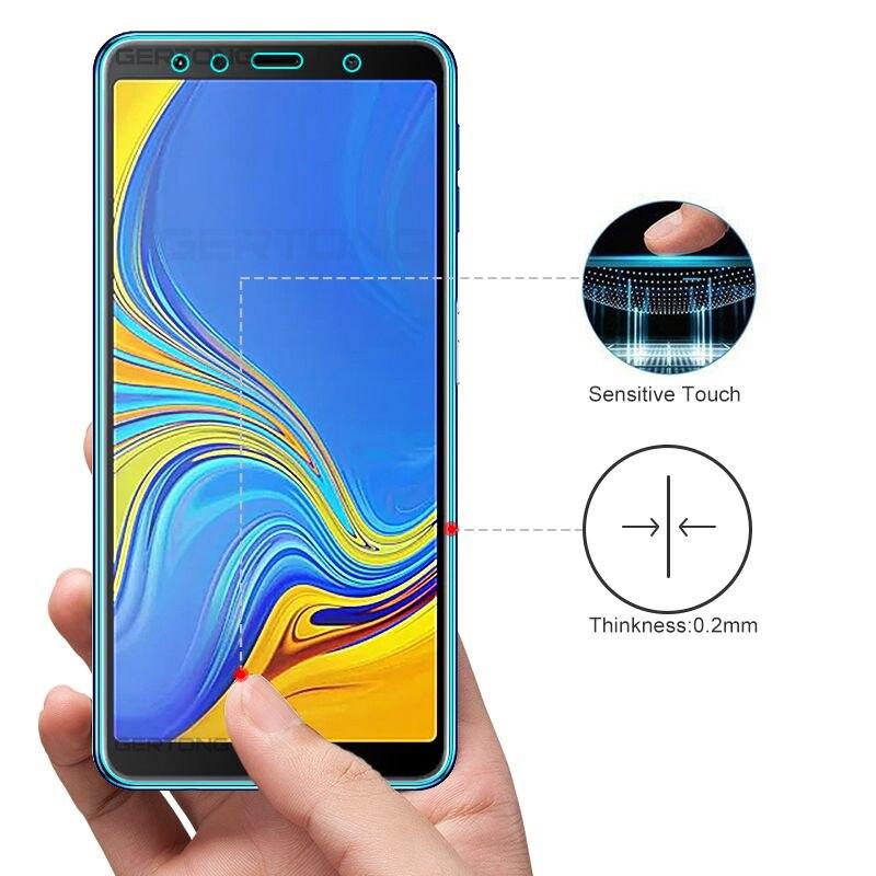 Image 3 - Защитное стекло для samsung Galaxy A7 2018 A750, закаленное стекло для samsung A7 2018, защитная пленка для экрана, защитное стекло 9H-in Специальные чехлы from Мобильные телефоны и телекоммуникации on AliExpress