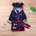 Cartoon Animal Baby bathrobe baby boy girl hooded bath towel infant bathing Wrap