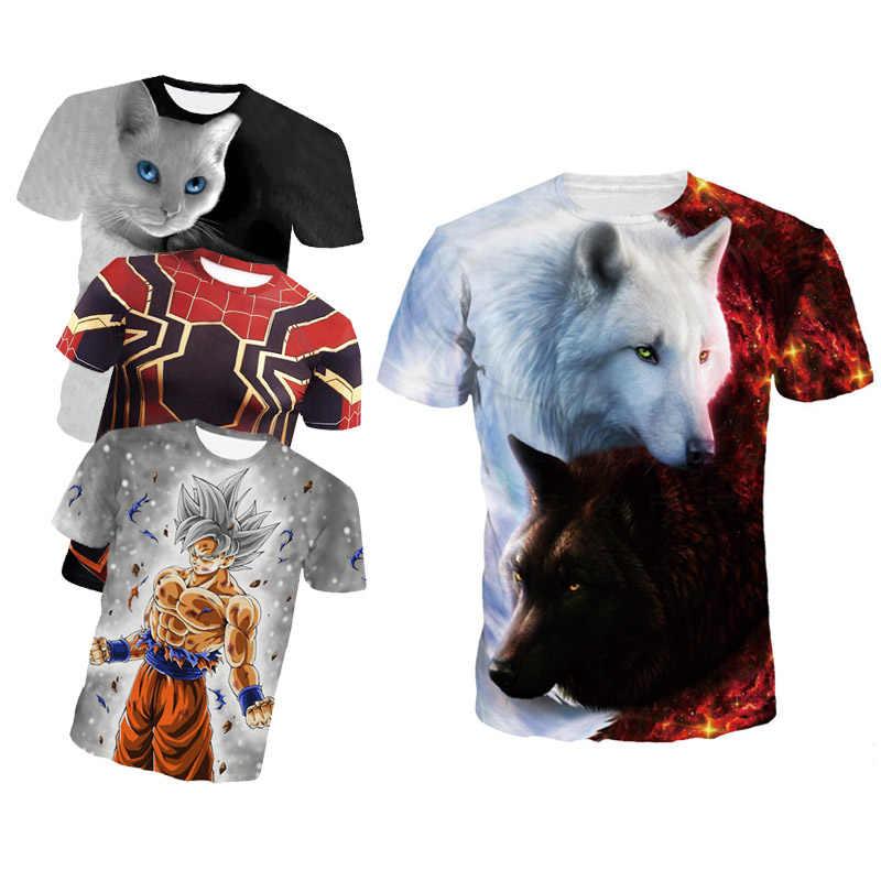 מכירה לוהטת גברים דחיסת חולצה אנימה פיתוח גוף קצר שרוול קרוספיט 3D חולצת טי סופרמן המעניש T חולצה חולצות Tees