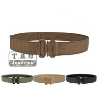 Emerson Tactical Cobra 1.75 Rigger's Waist Support Belt EmersonGear Gun Pistol Waist Belt With AustriAlpin Buckle Coyote Brown