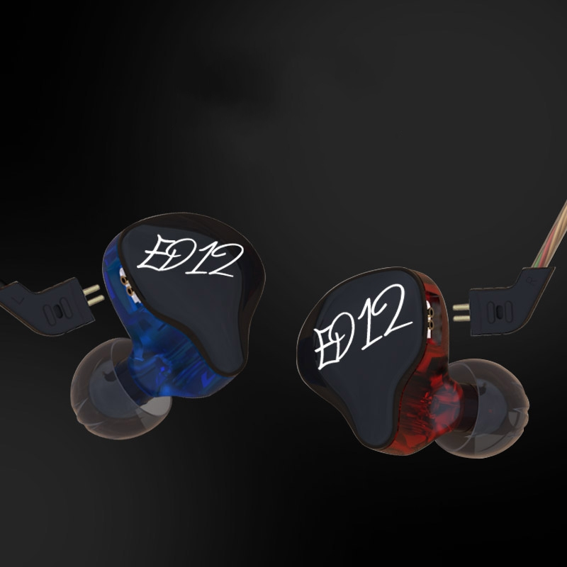 KZ ED12 Head Phone Earphone Headset for samsung iphone xiaomi Hifi Earbud Earphones Quality Original Stereo Music fone de ouvido