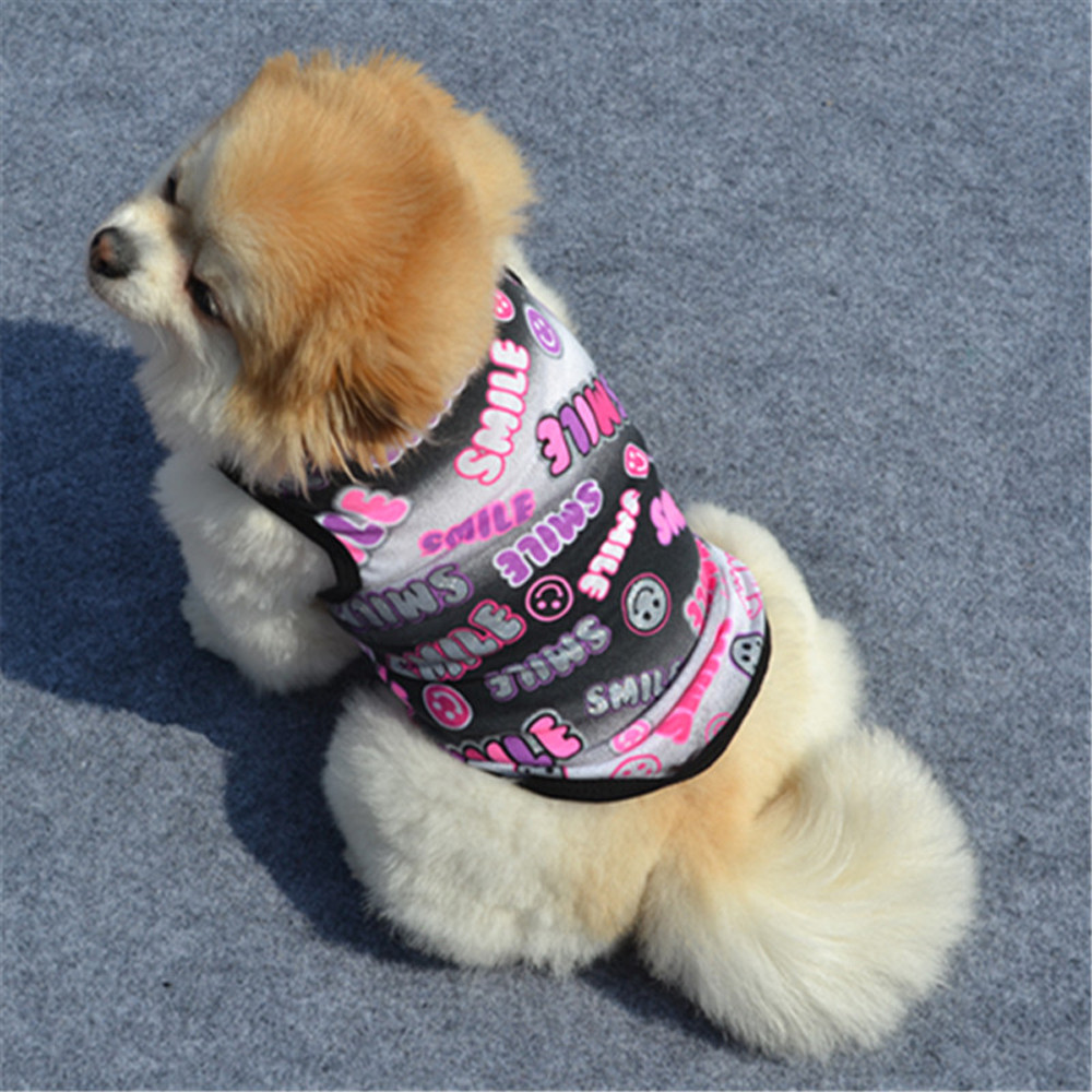c8cc407a26b9 Aliexpress.com : Buy Hot Sale Cute Summer Pet Puppy Small Dog Cat Pet  Clothes Vest T Shirt Apparel Small Pet Dog Clothes Costume for Chihuahua  from Reliable ...