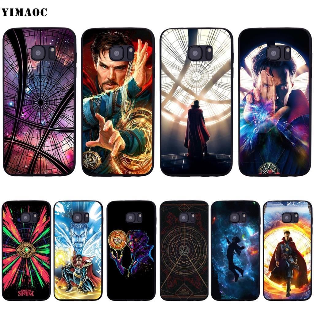 Doctor Strange Soft Silicone Case For Samsung Galaxy S6 S7 Edge S8 S9 Plus A3 A5 A6 Note 8 9 100% High Quality Materials Phone Bags & Cases Fitted Cases Dashing Yimaoc Dr