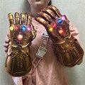 Американские супергерои, военная перчатка 1:1, экшн-фигурка светодиодный светильник, перчатки для косплея, реквизит, подарок для взрослых и д...