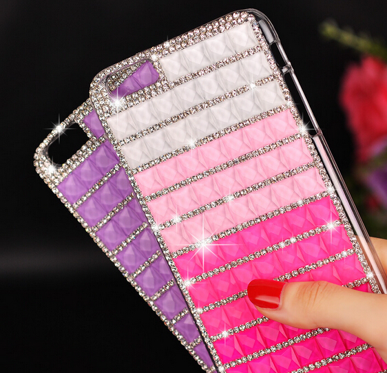 5diamond shining PC back Case Cover apple iphone 6 4.7 inch Ultra thin phone cases & covers accessories - rafael wan's store
