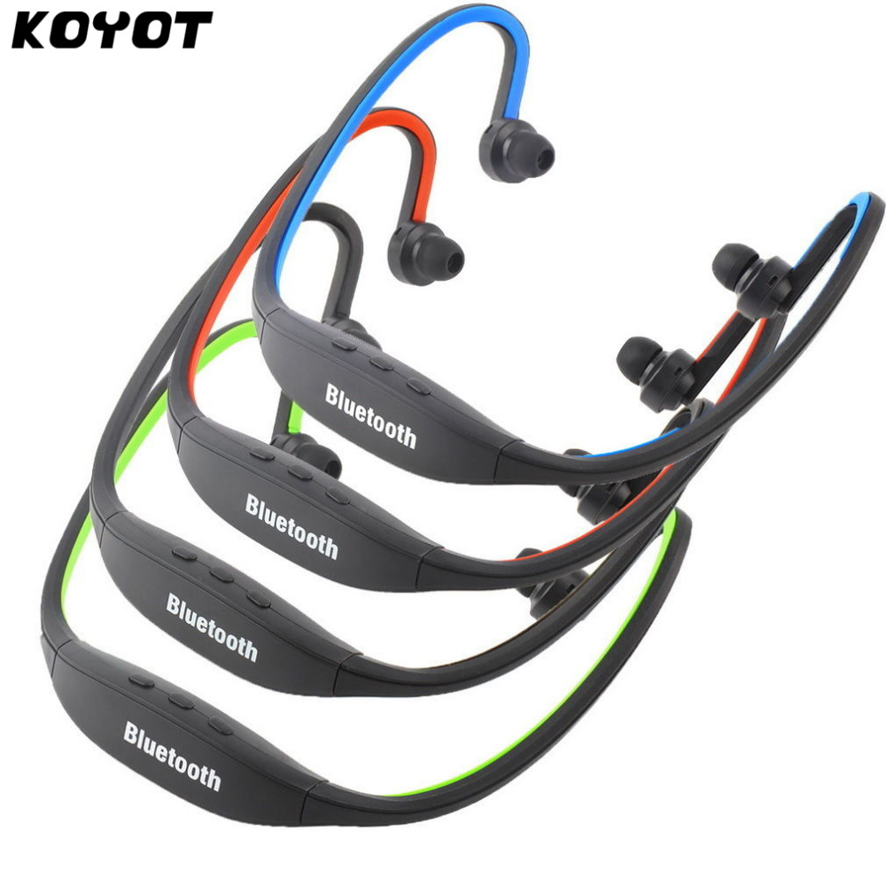 KOYOT Sports Handfree Stereo Wireless Bluetooth 3.0 Headset Earphone Headphone for iPhone 7 Galaxy S4/S3 HTC LG Smartphone