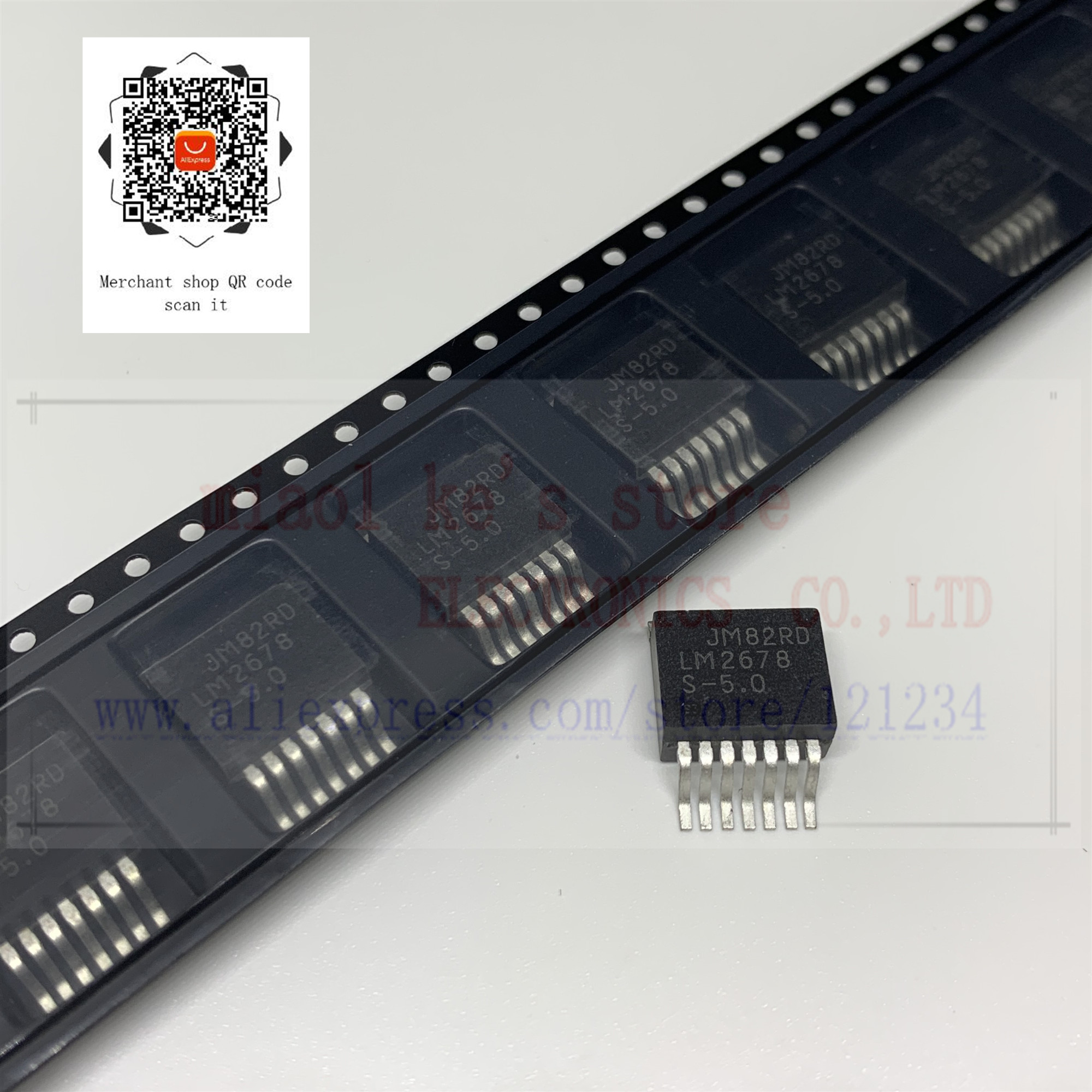 [5 pces/1 lote ou 10 pces/1 lote] 100% novo original; LM2678S-5.0/nopb LM2678S-5.0 lm2678 S-5.0-ic reg buck 5 v 5a 260 khz TO263-7/TO-263CA