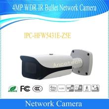 Бесплатная доставка Dahua видеонаблюдения IP Камера 4MP WDR ИК Пуля сети Камера с POE без логотипа IPC-HFW5431E-Z5E