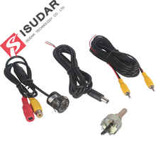 8 LED HD Car Rear View Camera With Night Vision Waterproof With Parking Line
