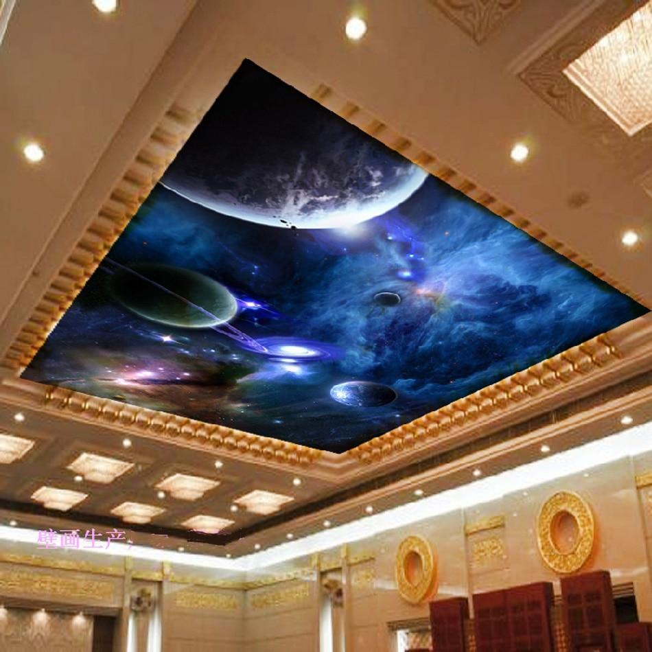 Stern Raum Starry Night Rotation Sky 3D Benutzerdefinierte Tapete ...