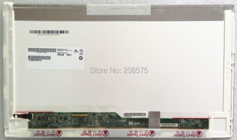 Envío libre B156XW02 LP156WH2 LP156WH4 TLN1 TLA1 LTN156AT02 LTN156AT05 LTN156AT24 15.6 Pantalla LCD portátil LED panel