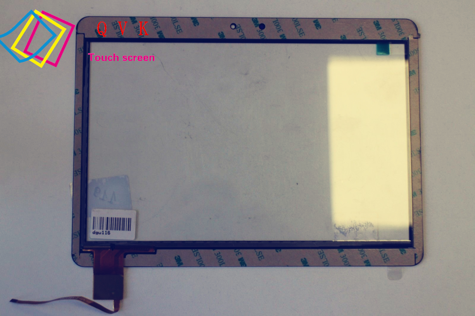 White 10.1 Inch for Archos 101 Helium 4G tablet pc capacitive touch screen glass digitizer panel Free shipping original new 8 inch ntp080cm112104 capacitive touch screen digitizer panel for tablet pc touch screen panels free shipping