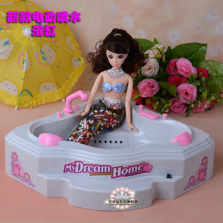 new electric water spray bathtub bathing toys furniture