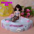 New electric Water spray Bathtub Bathing Toys furniture set 30cm doll accessories for barbie doll girls play house toys dress up