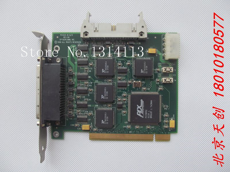 [SAA] Beijing spot! Spydercomm PCI422-8-6 / 2 REV B2 multiuser capture card --2PCS/LOT[SAA] Beijing spot! Spydercomm PCI422-8-6 / 2 REV B2 multiuser capture card --2PCS/LOT