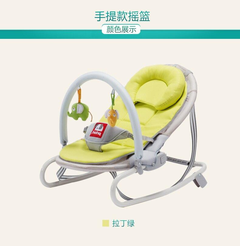 Schommelstoel Met Wieg.Baby Schommelstoel Wieg Rustgevende Liggende Schommelstoel