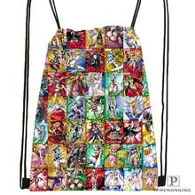 Custom digimon beelzemon Drawstring Backpack Bag Cute Daypack Kids Satchel Black Back 31x40cm 180612 03 Digimon2