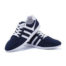 Lace-up factory outlet zapatos ежедневно hombre весной бесплатная холст доставка повседневная
