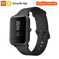 Xiaomi Huami Amazfit Bip Smart Watch English Version Smartwatch Pace Lite Bluetooth 4 0 GPS Heart