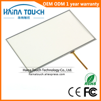 Win10 Compatible 10 2 Inch 4 Wire Resistive USB Touch Screen Panel Touch Panel For Laptop