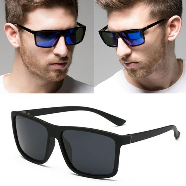 Coodaysuft Espelho Quadrado Óculos de Sol Da Moda Mulheres Homens Marca  Designer UV400 óculos de Sol 566eae437e
