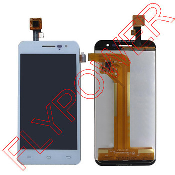 For jiayu G2F touch Screen Digitizer with LCD display screen for jiayu G2F phone White GSM Version By Free shipping a lcd display for jiayu g5 g5s lcd