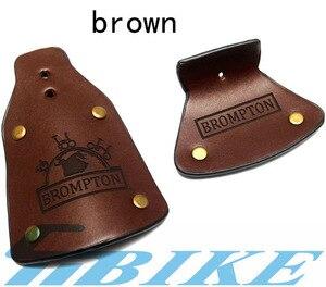 Image 4 - Aceoffix Handgemachte für brompton Fahrrad Leder Schmutzfänger