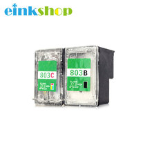 Einkshop for HP 803xl Inkjet Printers For Cake Bread Latte Cookie Empty Edible Ink Cartridge For Coffee Printer Food Printer цена