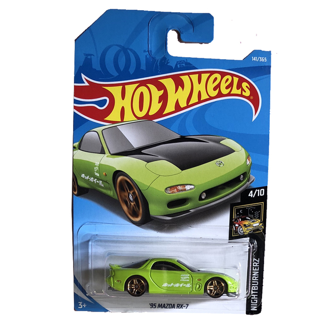 2018 Mazda Rx7 Price >> New Arrivals 2018 8f Hot Wheels 1:64 95 mazda rx 7 car ...
