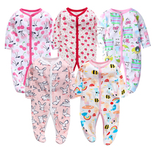Baby Rompers Long Sleeve 100%Cotton overalls Newborn clothes Roupas de bebe boys girls jumpsuit&clothing