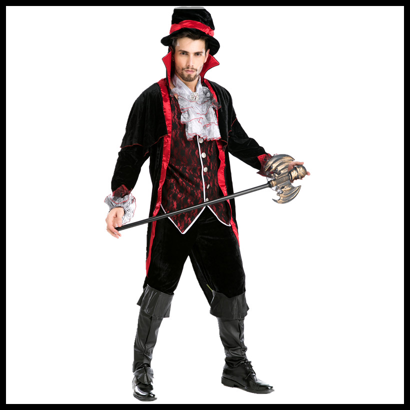 best selling party supplies pirate capain jack cosplay halloween men costume christmas vampire magician movie costumes 5pcs in chinese folk dance from - Christmas Movie Costumes