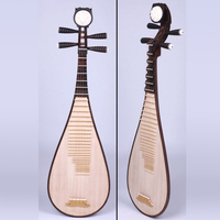 Lute Carving Pattern Professional Performance Tribal Instrument