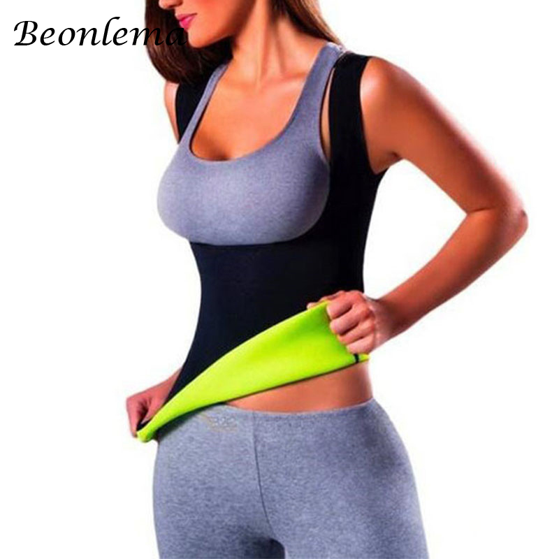 Neoprene Full Body Shaper Sauna Waist Trainer Vest Shapewear Suit Slimming Sweat Fitnessmode