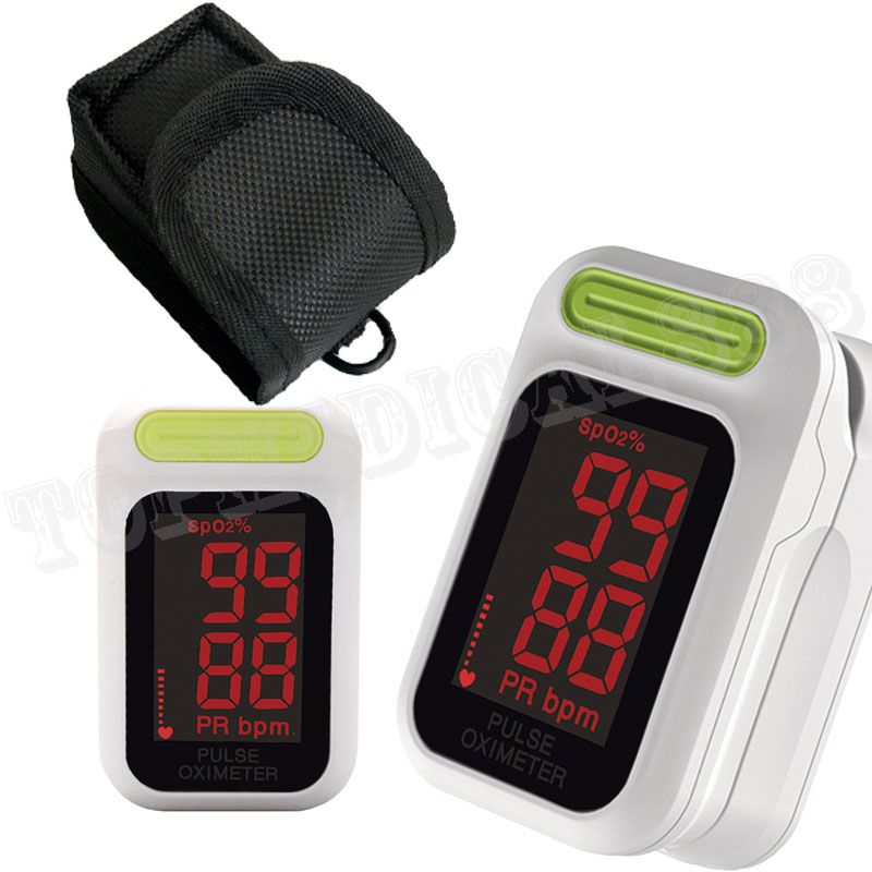 case/bag New Come Automatically Open Pulse Oximeter Led Display Blood Oxygen Monitor Spo2 Pr Blood Oxygen Monitor Fine Mother & Kids Grooming & Healthcare Kits