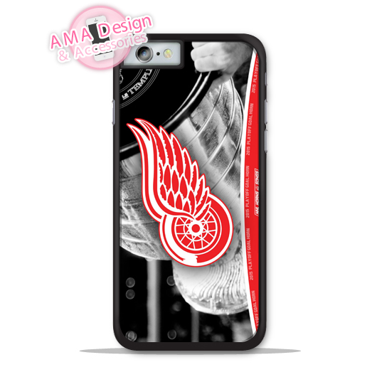 Detroit Red Wingz Ice Hockey Champion Phone Cover Case For Apple iPhone X 8 7 6 6s Plus 5 5s SE 5c 4 4s For iPod Touch