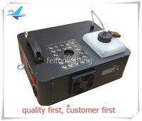 O 4pcs/lot 24X3w RGB 1500W Fog Machine DMX LED Pyro Vertical Smoke Machine