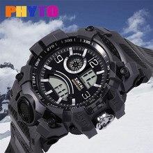 Часы otoky мужские часы Move Мужские t электронные часы мужские светодиодный водонепроницаемые цифровые кварцевые, армейские, спортивные часы с датой 19April23