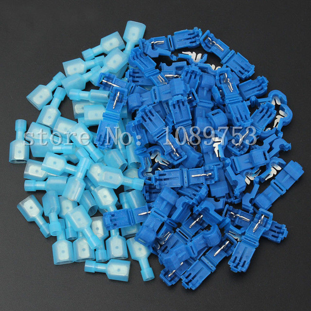 Aliexpress.com : Buy 40PCS T Tap/Male Insulated 1.0 2.5mm2 Wire ...
