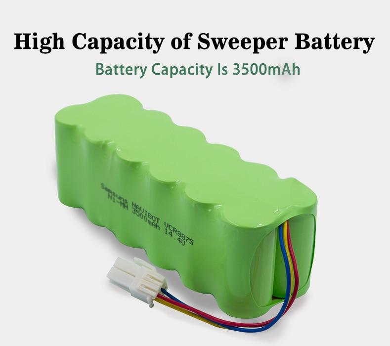 Bateria recarregável de palo 14.4 v 3500