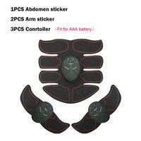 Унисекс EMS тренажер для мышц умный ABS тренажер брюшной мышцы тело фитнес формирование массаж патч массажер для похудения