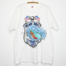 7c00bea3 Beach Boys Vintage tshirt 1990 Surf Patrol Tour Catch A Wave Surf  RocK(China)
