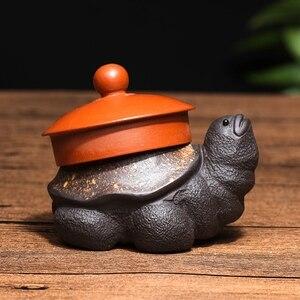 Image 4 - Подставка для крышки чайного горшка из фиолетовой глины для домашних животных