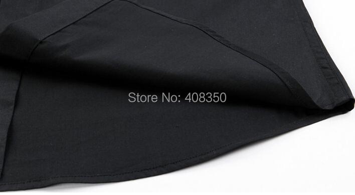 Men\'s Fashion Quality Metal Chain Cotton BlackWhite Long Sleeve Party Dress Shirt Casual Masculina Camiseta Cool Business Shirt (6).jpg