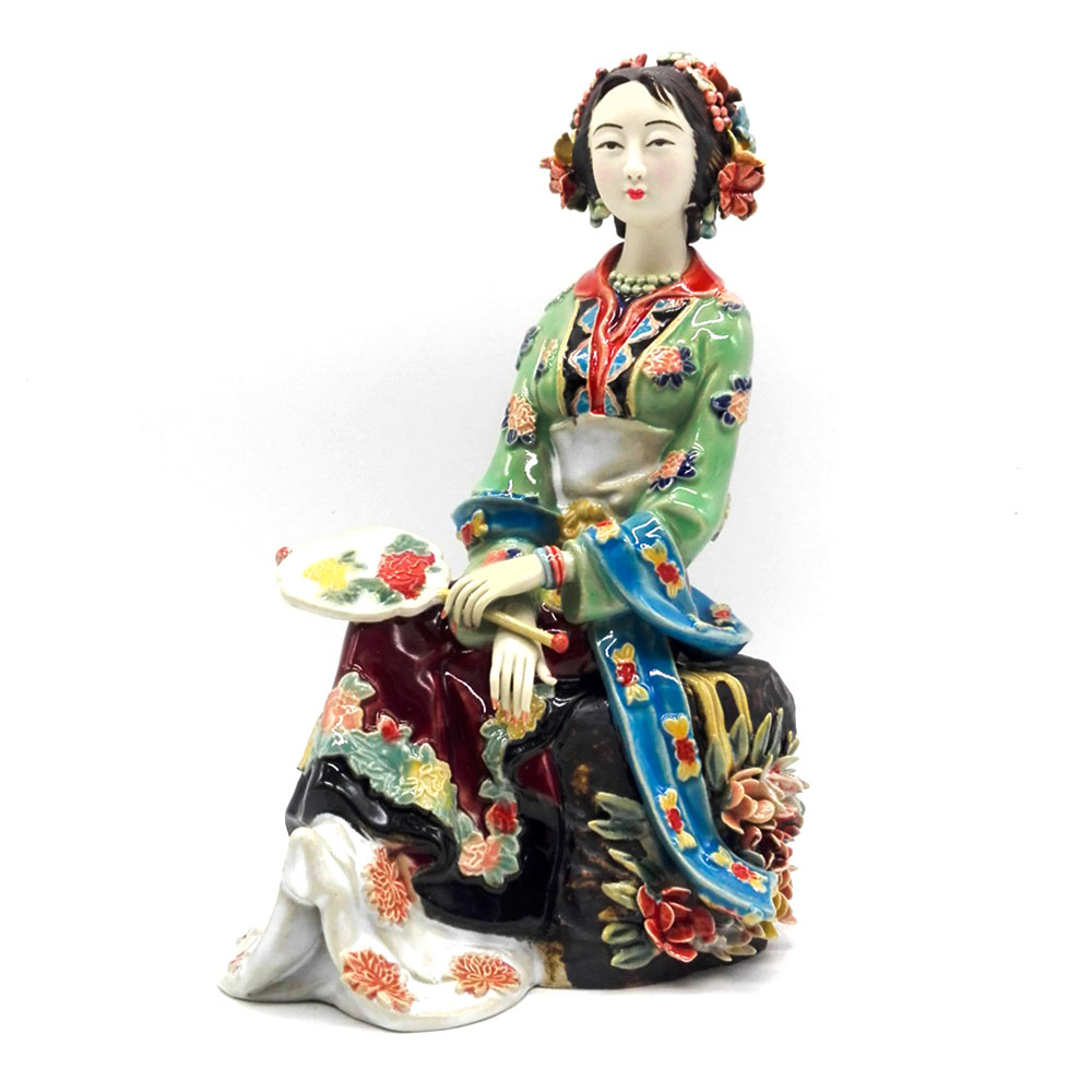 Porcelain, Female, Glazed, Vintage, Ceramic, Collections