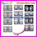 2000pcs Good Quality Eyeglasses Eyewear Glasses Accessories Silicone Nose Pads Screw in or Push in Free Shipping